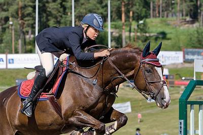 sm hästhoppning Falun 2007